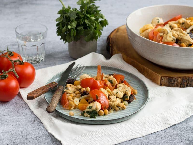 Recept fruitige stoofpot met kip