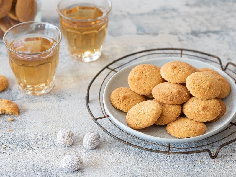 Recept knapperige koekjes met nootmuskaat