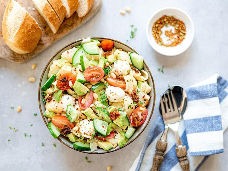 Recept voor zomerse pastasalade