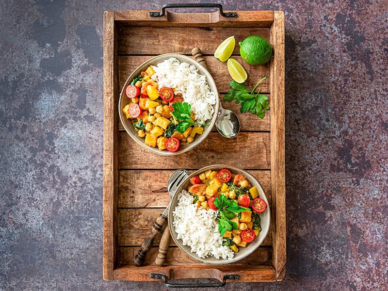 Recept voor vegetarische curry stoofpot