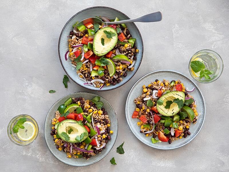 Recept-voor-rijstsalade-met-avocado