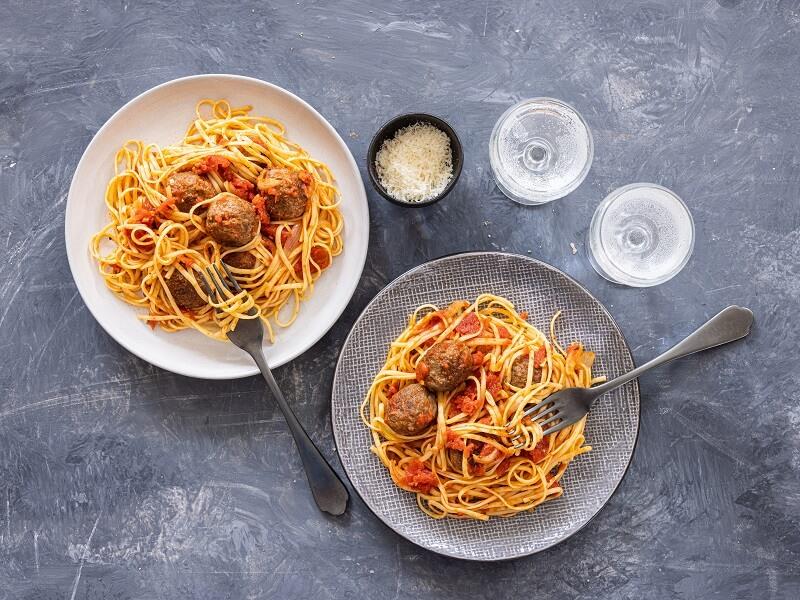 pasta-met-wild-zwijnballetjes